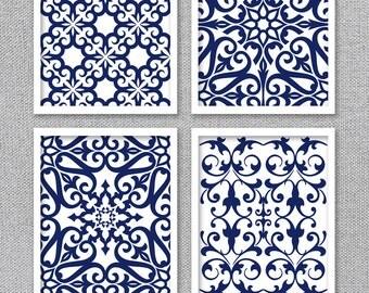 PRINTABLE Art, Printable Wall Art, Printable Artwork, Navy Art, Blue Art, Digital Printable Art, Bedroom Art, INSTANT DOWNLOAD, Wall Decor