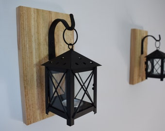 rustic candle lantern sconces wall decor wall sconce candle lantern hanging candle