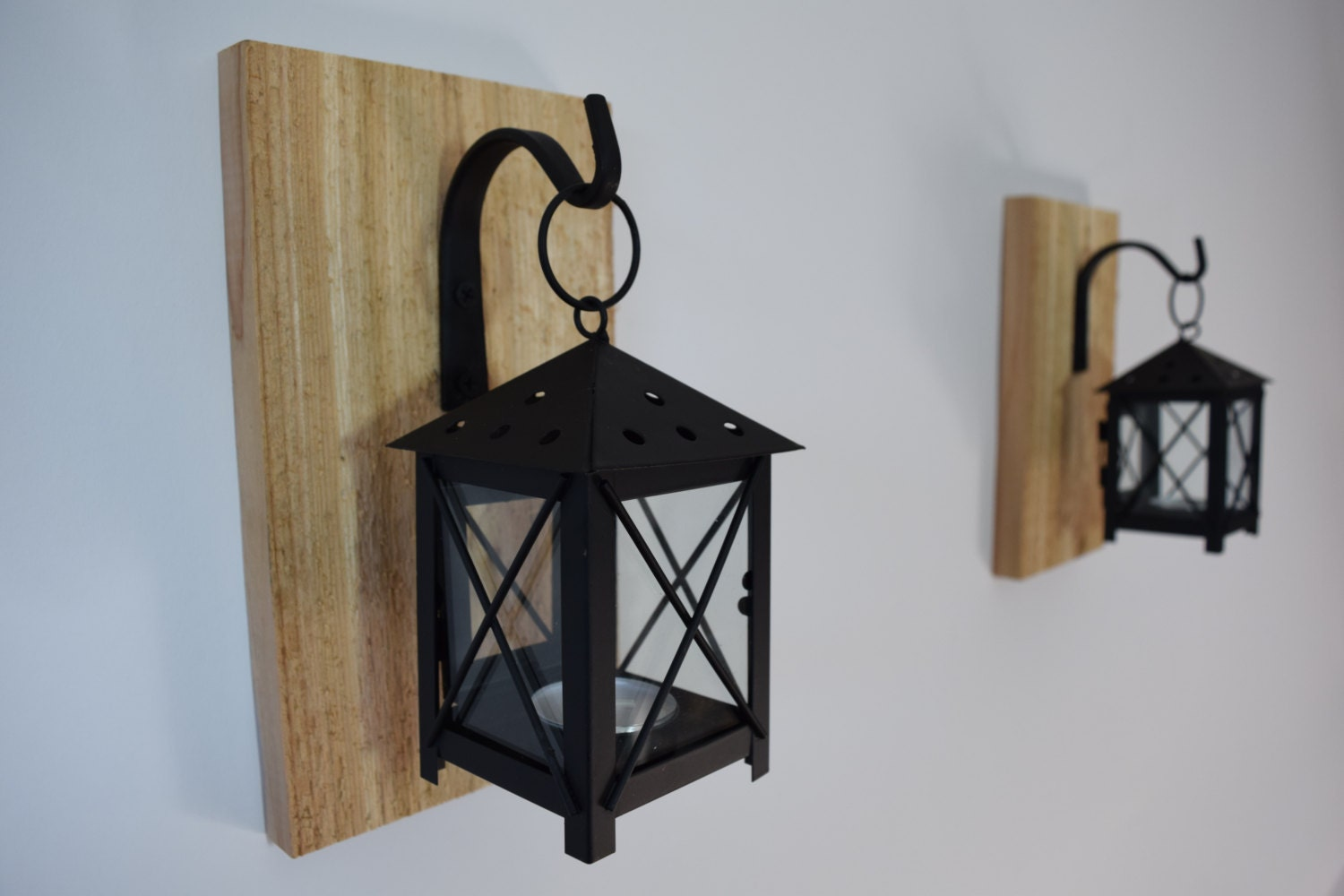 Rustic Wall Sconces For Candles : Rustic Candle Lantern Sconces Wall Decor Wall Sconce