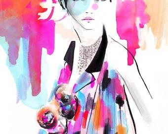 Chanel SS16 01 Fine Art Print