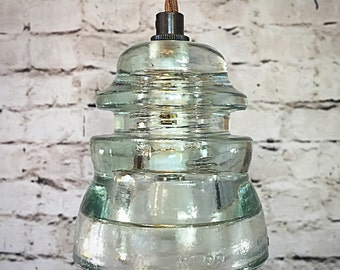 diy glass insulator pendant light kit diy by glassinsulatorlights. Black Bedroom Furniture Sets. Home Design Ideas