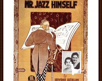 Mr Jazz Himself, Irving Berlin from the book Memory Lane