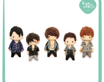 Kpop Polymer Clay DBSK Mirotic Cell Phone Charm – Kpop Collection