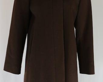 Harve Benard Wool Knee Length Coat