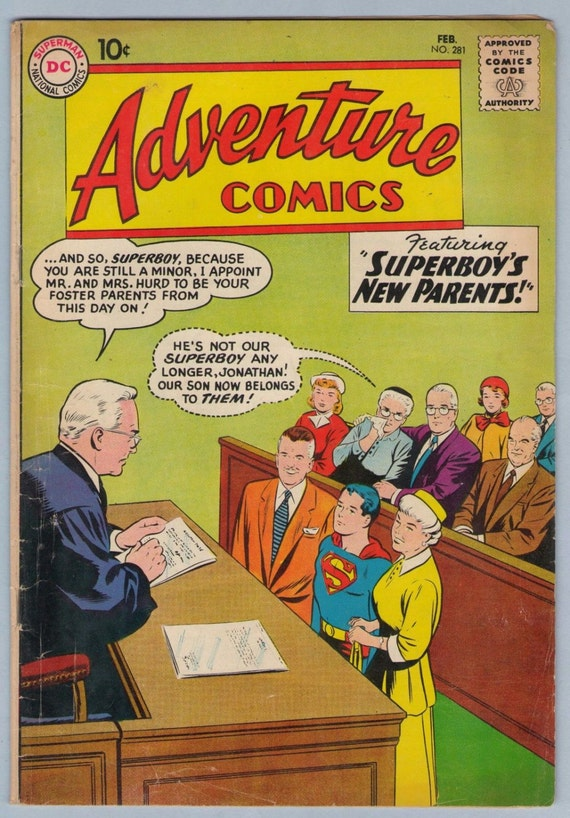 Adventure Comics 281 Feb 1961 VG (4.0)