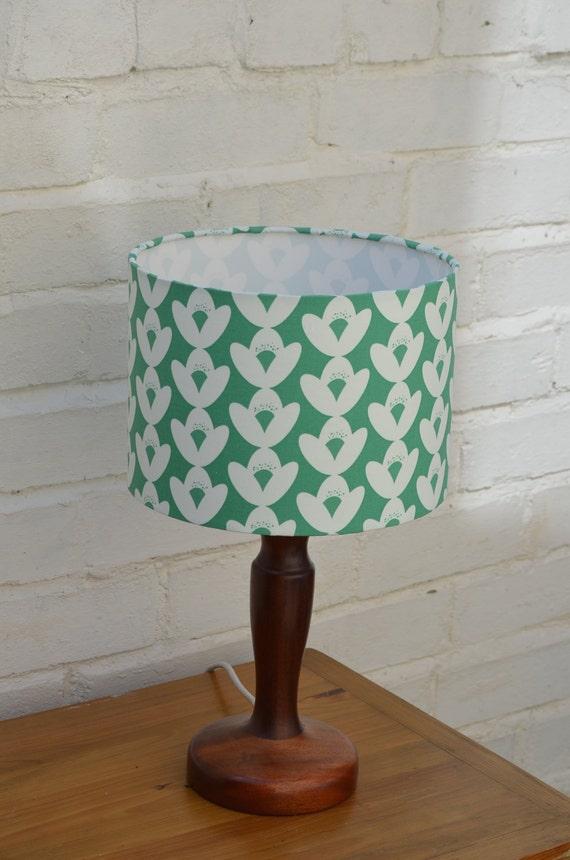 Green Floral Lamp Shade : Green lamp shade floral lampshade