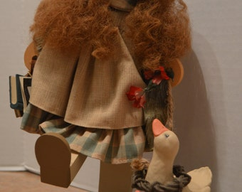 Lizzie High with Goose Signature Edition 10th Anniversry Doll