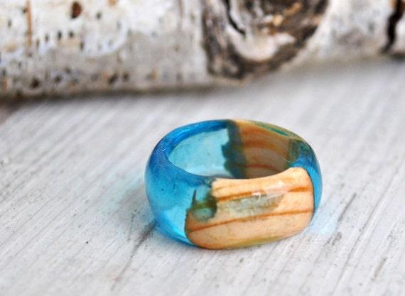 ... Holz Ring, minimalistischen Holz Ring, Engagement Holz Schmuck