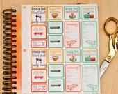House Guest Planner Stickers (#057)