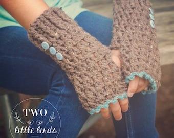 Crochet Pattern, fingerless gloves crochet pattern, crochet fingerless gloves, sizes child and adult, customizable, LOLA FINGERLESS GLOVES