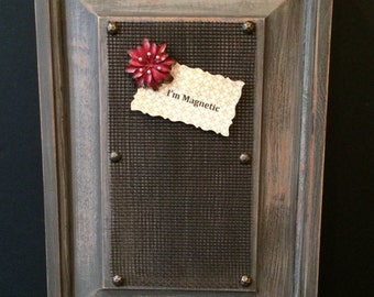 Magnetic Board/Magnetic Memo Board/Magnetic Office Organizer/Memo Magnetic Board/Magnetic Framed Board