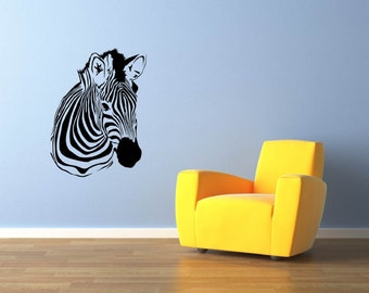 Zebra Wall Decal