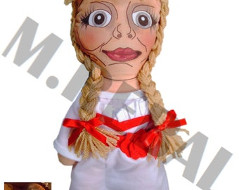 Annabelle Inspired Plush [Handmade]