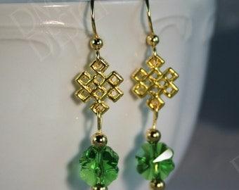 Wearin' o' the Green Earrings