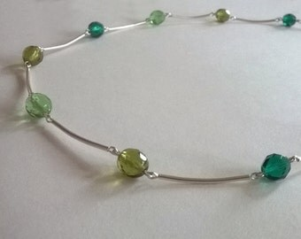 Green Fusion Necklace