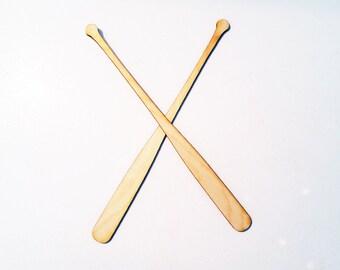 Baseball Bats wood cut out