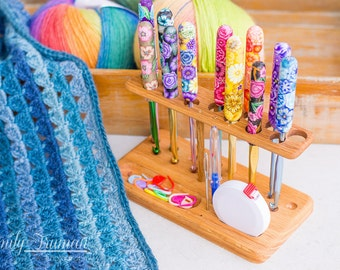 Polymer Crochet Hook Showcase - New From Chetnanigans!
