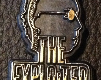 Vintage The Exploited Badge