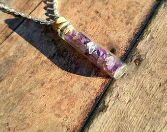 Amethyst Treasures Necklace