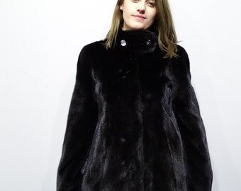 Real Fur Jacket,Real mink fur,Woman fur jacket,Mink Pelt Jacket,Winter fur jacket,Black fur jacket,Short Fur Jacket,Mink Jacket,