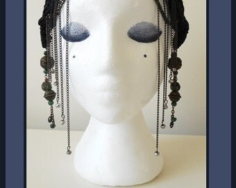 Midnight Sky Headdress