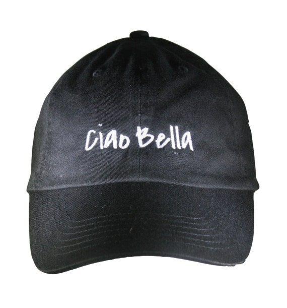 Ciao Bella (Polo Style Ball Black with White Stitching)