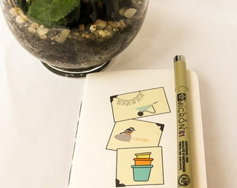 Pocket Journal: Spring has Sprung Collection  20 pages