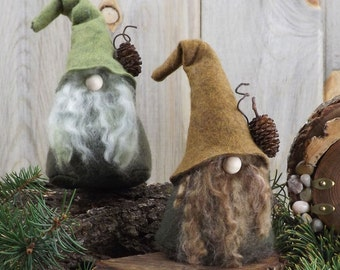 Wizard Woodland Felt Gnome ~ Nordic Gifts
