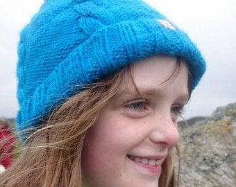 Kids Cable Knit Hat