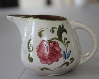 "Vintage Stangl Pottery Della Ware ""Laurita"" Pitcher"