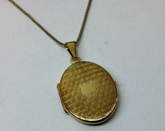 Medallion gold plated pendant old silver 835 SK812