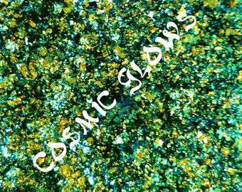UCC FLAKIES! - 4) Lime/ Green/ Aqua/ Blue