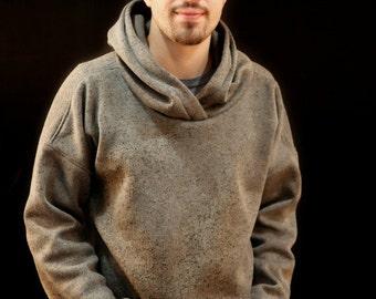 Mens hoodie sweatshirt PDF sewing pattern /Mens sweater sewing pattern /mens pullover PDF pattern/Mens sweatshirt PDF pattern for sewing
