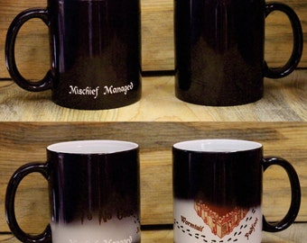 Harry Potter Themed Mischief Managed Mug