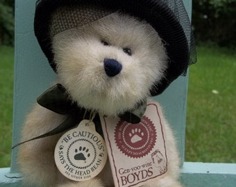 Boyds Beanie Bear Wixie Lee Hacket TJ's Best Dressed