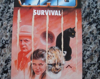 Doctor Who - Survival - Target Paperback Book