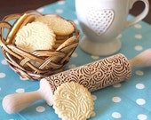 Cookware Pattern rolling pin Housewarming Eco Sister Girlfriend Mother gift