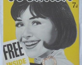 Vintage Original 1950/1960's Woman Advertising Card