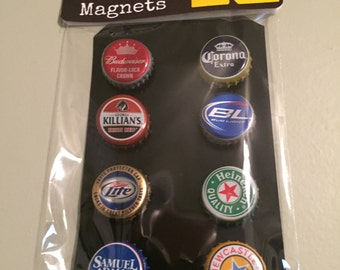 Beer Bottle Cap Magnets