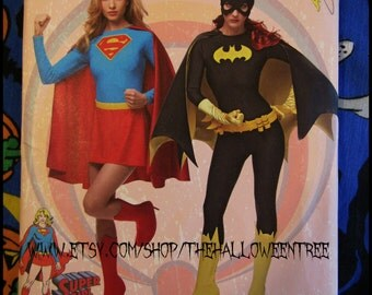 Simplicity 1036 Batgirl or Supergirl Sewing Pattern women's Medium-Large
