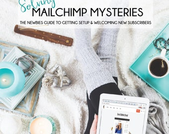 Mailchimp for Beginners! Newsletter, Newsletter Template, Blogger Tips, Blogger Resources, Tutorial
