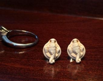Ganesh stud earrings