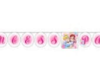 Disney Princess Party Celebration Banner