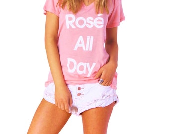 Rose All Day Shirt - Available in S, M , L, XL.