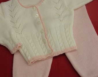 SALE 10% OFF Newborn Top and Bottom - Size: I and II