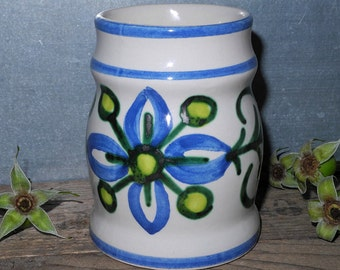 Ulm ceramic - vase, blue green