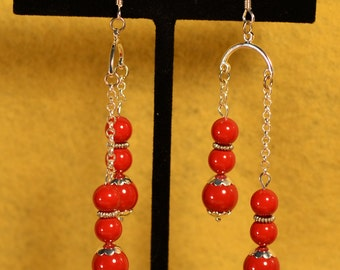 red coral double drop