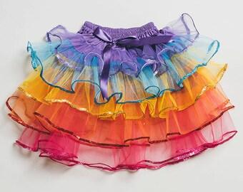 Tutu Skirt - Rainbow