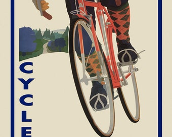 """Bike Colorado 16""""x20"""" Bicycle Cycle American Sport Vintage Poster Repro Paper/Canvas FREE SHIPPING in USA"""