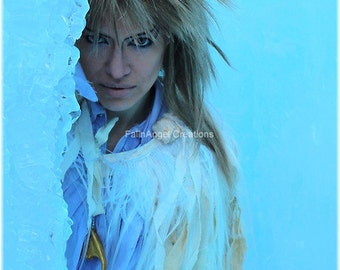 "Jareth Labyrinth Cosplay Art Print ""His Cold Stare"" Original Art"